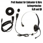 Headset Yealink YHS33 Profi RJ9 QD Telefon On-Ear...